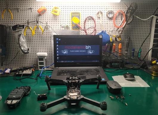 Manutenção e Reparo de Drones DJI é na ModelismoBH