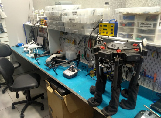 Manutenção Profissional em Drones DJI São Paulo e Belo Horizonte