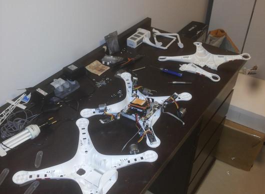 Troca da carcaça do Drone DJI Phantom 2