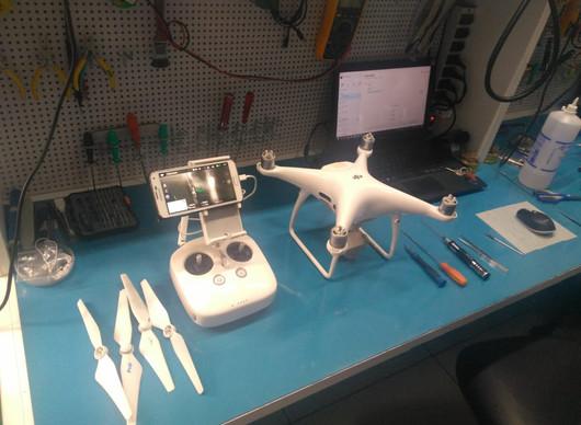 Nossa Bancada Técnica de Manutenção de Drones DJI está de Cara Nova