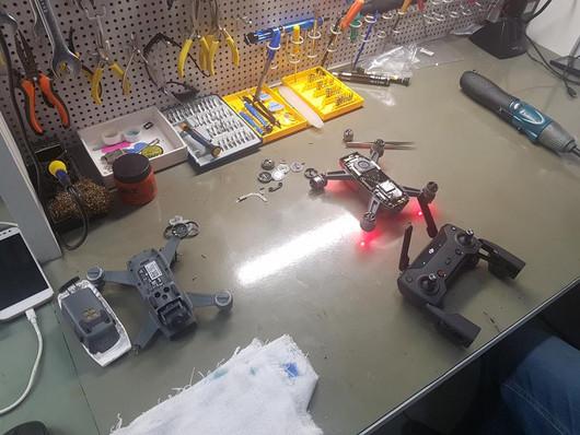 Manutenção de Drone DJI em BH - DJI Spark