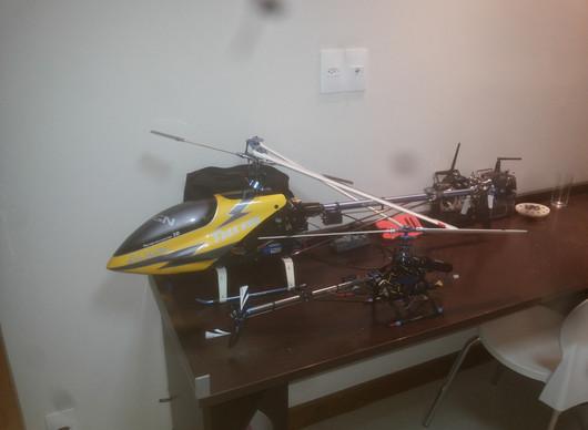 Configuração do Rádio Transmissor para o Helicóptero Align Trex 600