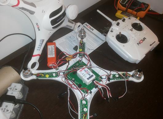 Conserto do Drone Quanum Nova
