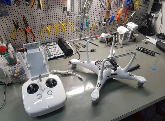 Loja de Drones em Belo Horizonte/MG - Conserto Drone DJI Phantom 4 Pro