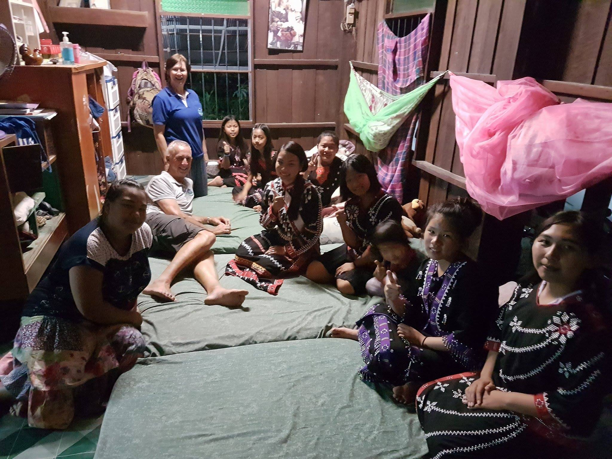Orphanage in Thailand with LINEN
