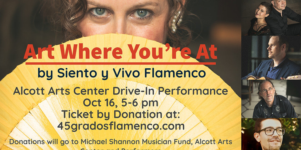 Art Where You're At:  A Flamenco Drive-in Experience