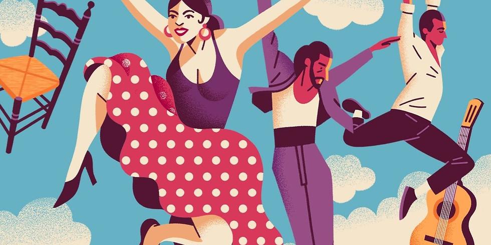 45° Flamenco Class Gift Cards