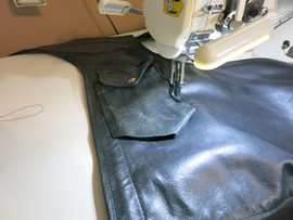 Sewing the Pocket