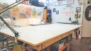 My beautiful cutting table.