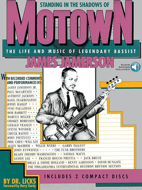 """Standing In The Shadows Of Motown """"James Jamerson"""""""