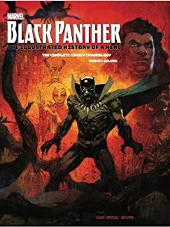 Marvel Black Panther (The Illustrated History Of A King)