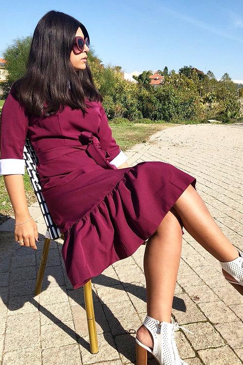 Collar Dress -קבלי 100 ש״ח הנחה