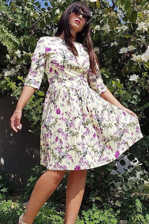 Summer Floral Dress -קבלי 50% הנחה SALE