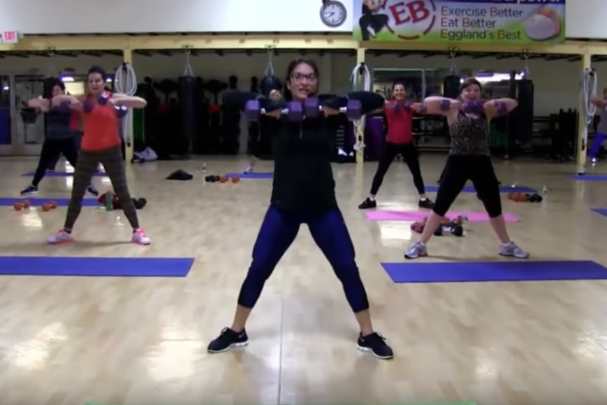 Cathe Live: Low Impact Hiit Circuit