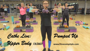 Cathe Live Review: Pumped Up Upper Body (#360)