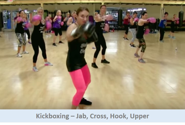 Kickboxing - Jab cross hook upper