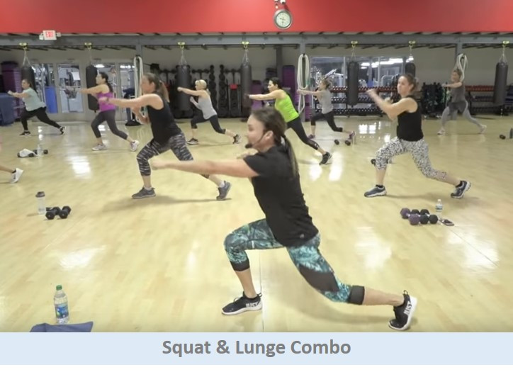 Squat & Lunge Combo