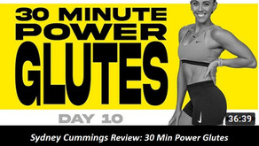 Sydney Cummings Review: 30 Min Power Glutes