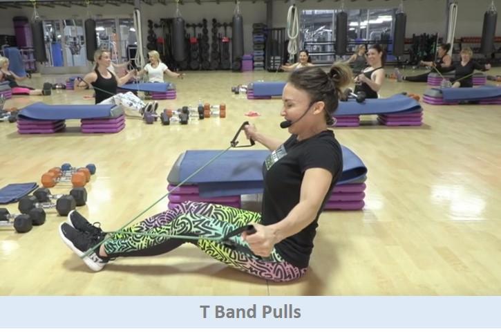 T Band Pulls