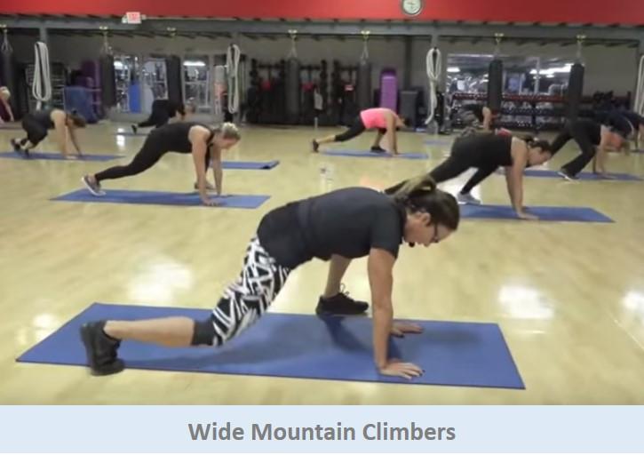 Wide Mountain Climbers
