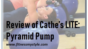 Review Cathe's LITE: Pyramid Pump Bonus DVD