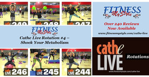 Cathe Live Rotation #4 – Shock Your Metabolism
