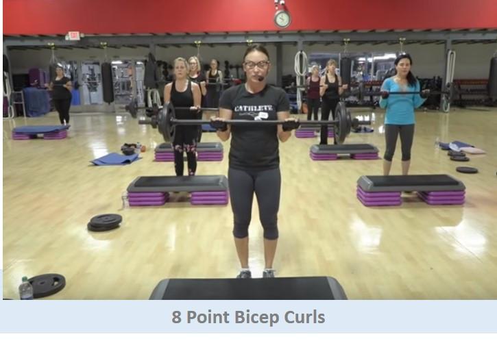 8 Point Bicep Curls