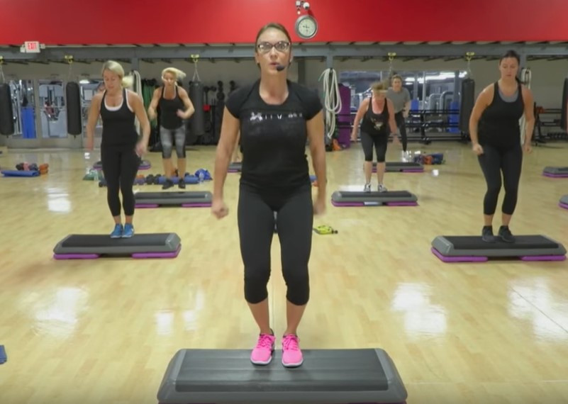 Cathe Live: Total Body Step Circuit Plus Core