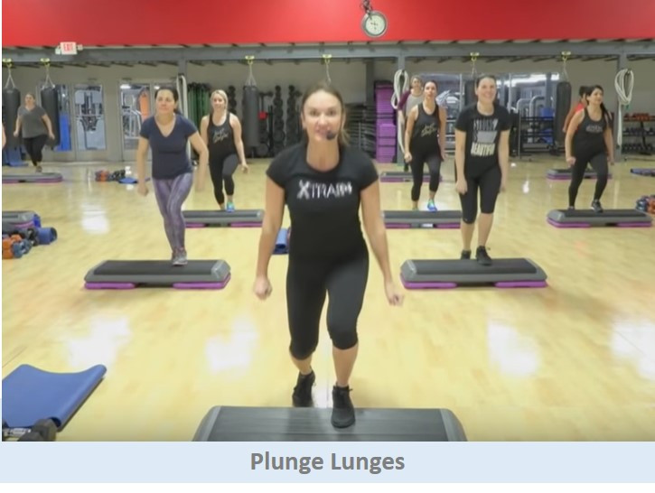 Plunge Lunges