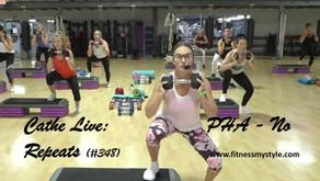 Cathe Live Review: PHA – No Repeats (#348)