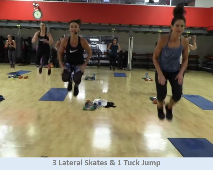 3 Lateral Skates & Tuck
