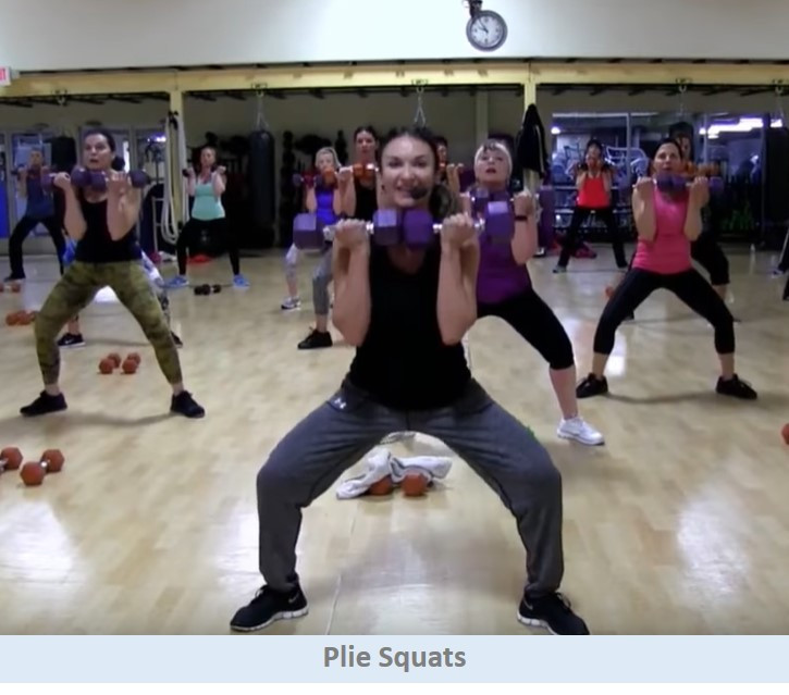 Plie Squats