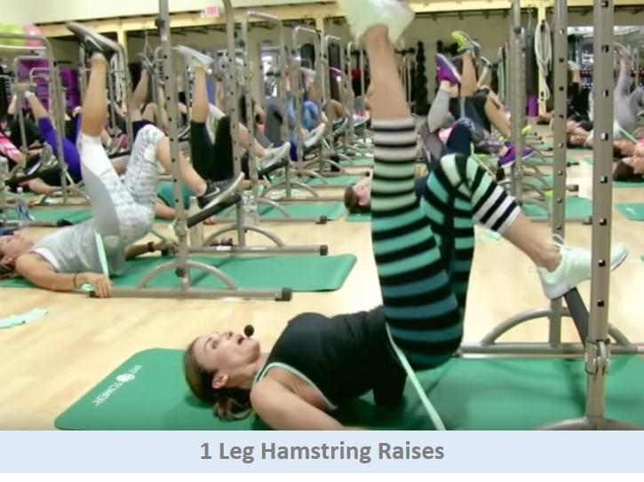 1 Leg Hamstring Raises