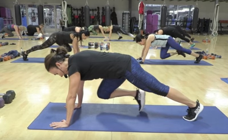 Cathe Live: Lower Body Hiit with Abs