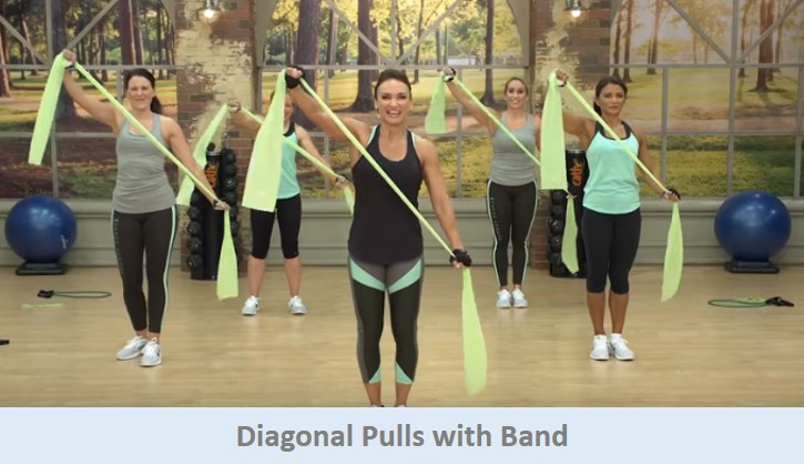 Diagonal Pulls with Band