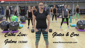 Cathe Live Review: Glutes & Core Galore (#364)