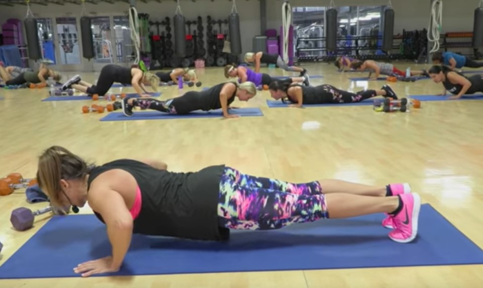 Cathe Live: Upper Body Circuit w Hiit