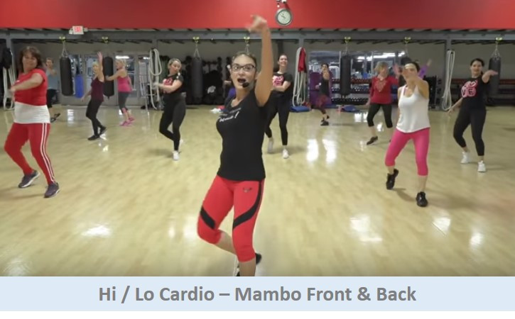 Hi Lo Cardio - Mambo Front & Back
