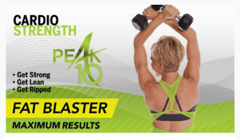 Peak 10 Cardio Strength Fat Blaster