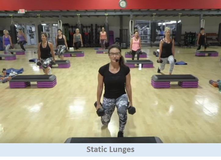 Static Lunges