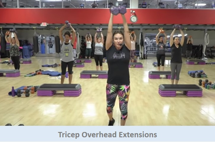 Tricep Overhead Extensions