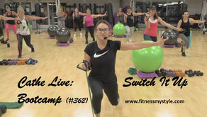 Cathe Live Review: Switch It Up Bootcamp (#362)