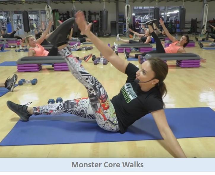Monster Core Walks
