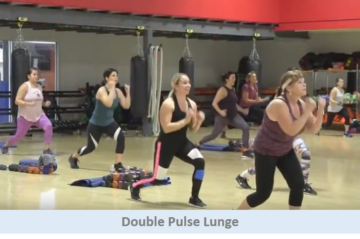 Double pulse lunge