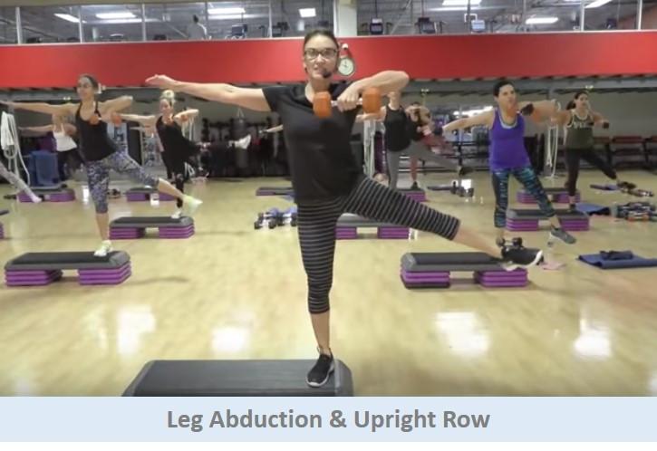 Leg Abduction & Upright Row