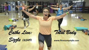 Cathe Live Review: Total Body Sizzle (#349)