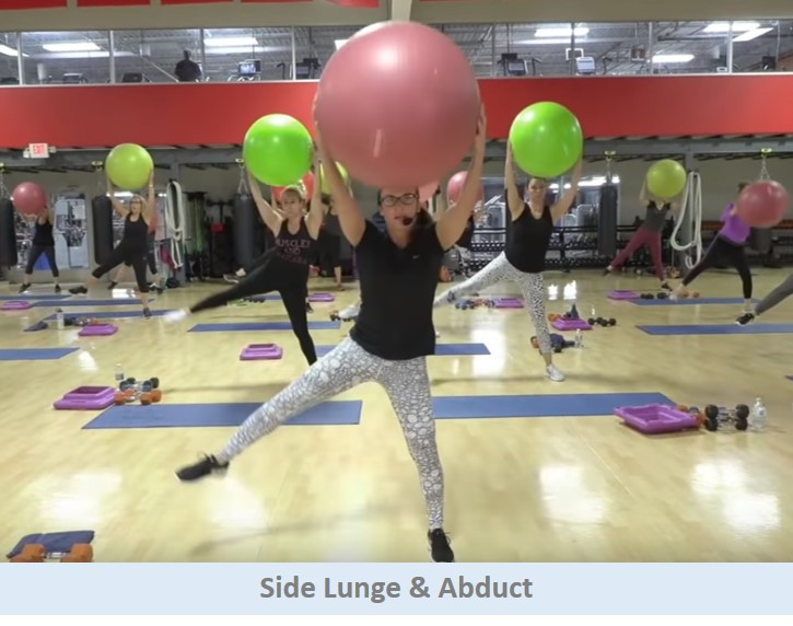 Side Lunge & Abduct