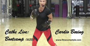 Cathe Live Review: Cardio Boxing Bootcamp (#315)