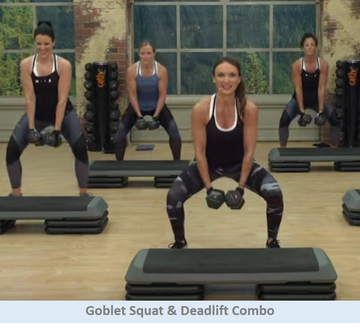 Squat & deadlift combo