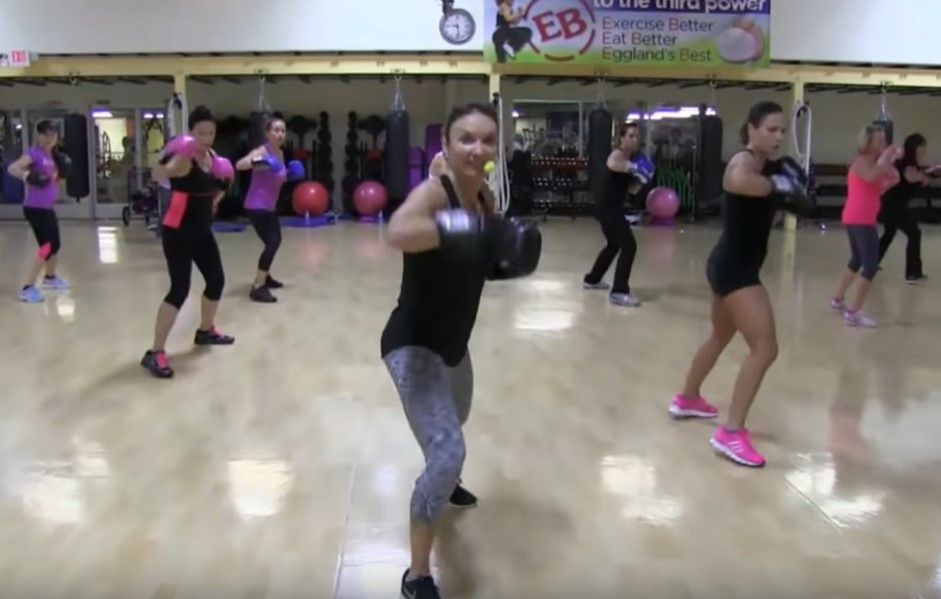 Cathe Live: Cardio Boxing & Stability Ball Abs